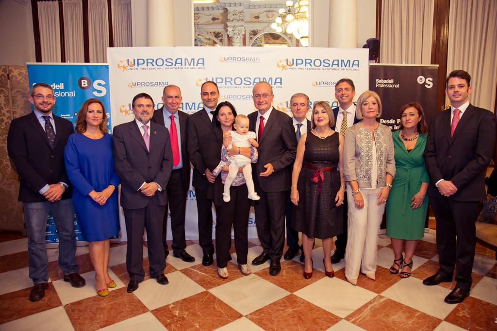 Alcalde de Málaga y Uprosama, Síndrome de Angelman, Apadrina un Ángel