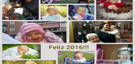 Feliz 2016, Síndrome de Angelman, Apadrina un Ángel