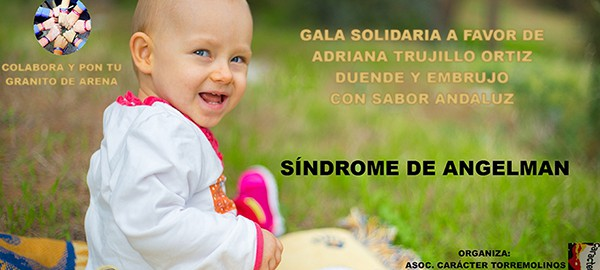 Gala Solidaria, Síndrome de Angelman, Apadrina un Ángel