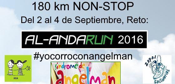 #yocorroconangelman, Síndrome de Angelman, Apadrina un Ángel