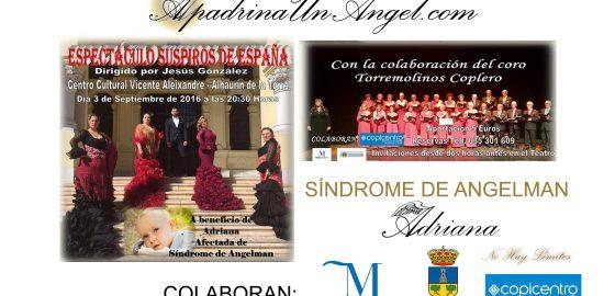 Suspiros de España, Síndrome de Angelman, Apadrina un Ángel