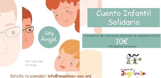 Cuento Infantil, Síndrome de Angelman, Apadrina un Ángel